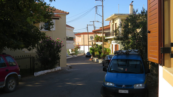 Street in Ancient Pissa, near Olympia.