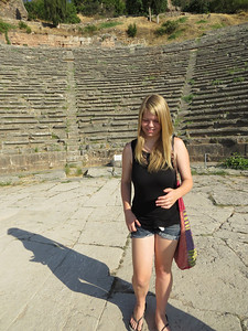 Gillian at the Delphi theater
