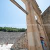 Ancient Epidaurus theatre.
