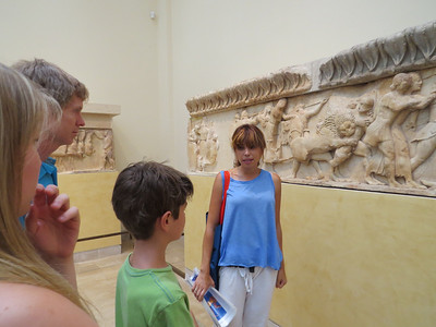 Penny, our tour guide at Delphi.