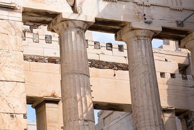 The Propyla of the Acropolis