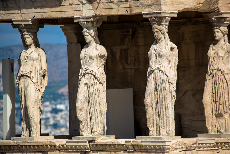 Decorations on the Erechtheum