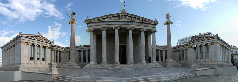 Academy of art , National Library, Bank of Greece, Athens, Greece
