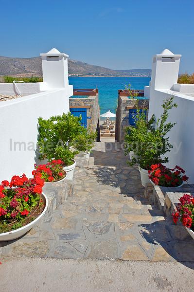 Beach resort in Greece