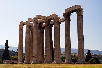 Temple of Olympian Zeus Athens, Greece