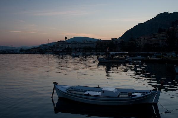 Sunrise over the Harbor, Nafplio 600pix-6396