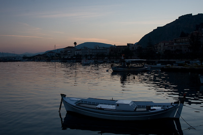 Sunrise over the Harbor, Nafplio 600pix-6396
