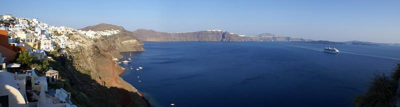 Oia late afternoon, Santorini, Greece