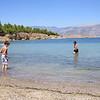 Beach in a cove at Galaxidi, near Delphi.