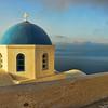 Blue Dome, Oia, Santorini
