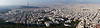 A panorama of Athens from Lykavittos Hill. Athens has a population of about 5 million people, about half of the population of Greece.<br /> DSC00094