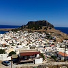 Lindos Town - Rhodes, Greece / 13th century Crusader Castle
