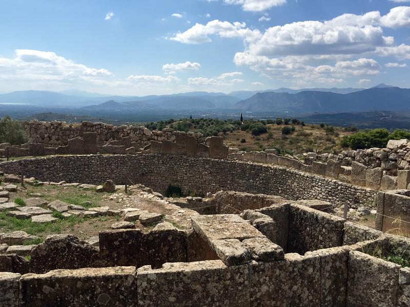 Ancient Mycenae (600 - 1,100 BC)