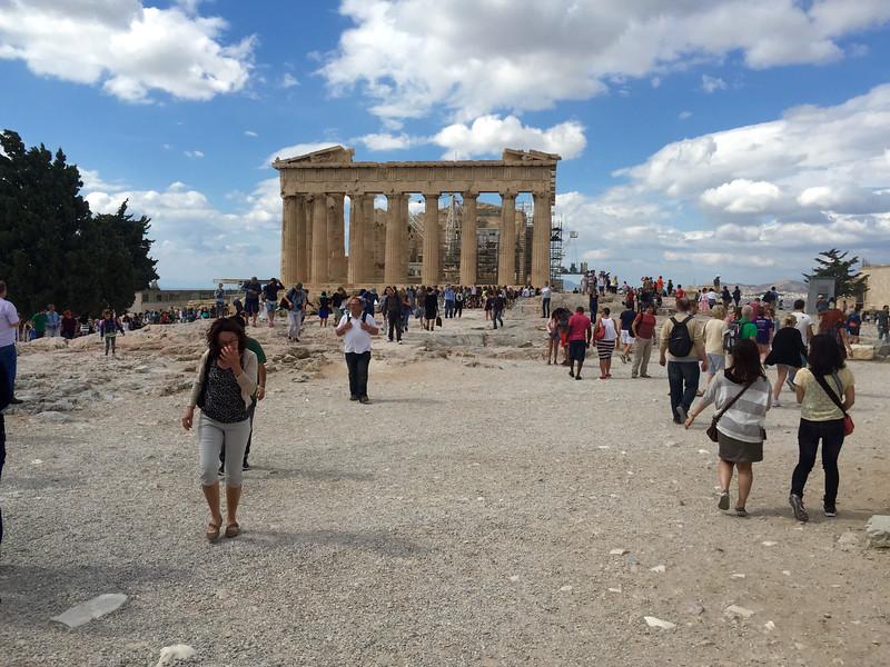 The Parthenon (438 BC) - Athens