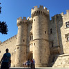 13th Century Crusader Castle built by the Hospitaller Knights - Rhodes