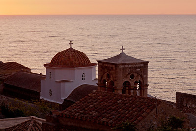 Monemvasia at dawn
