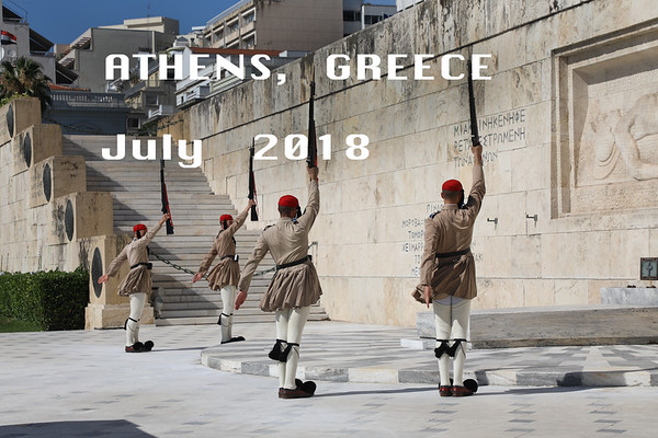 Athens, June 26-30 & July 14, 2018