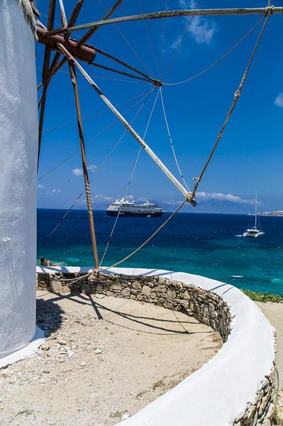 Mykonos Greek Islands<br /> Leica M9 + Tri-Elmar MATE