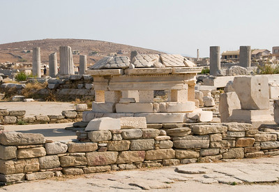 Island of Delos; Temple to Apollo & Artemis