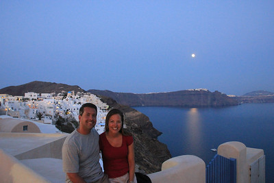 Santorini - our last night!