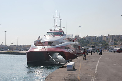 The ferry we took to Paros.  Fast!