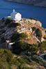 Possible Model Release, Church of Agia Pakou, Galissas, Island of Syros, Cyclades, Aegean Sea, Greece