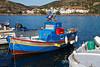 Boats in the Harbor, Galissas, Island of Syros, Cyclade Islands, Aegean Sea, Greece