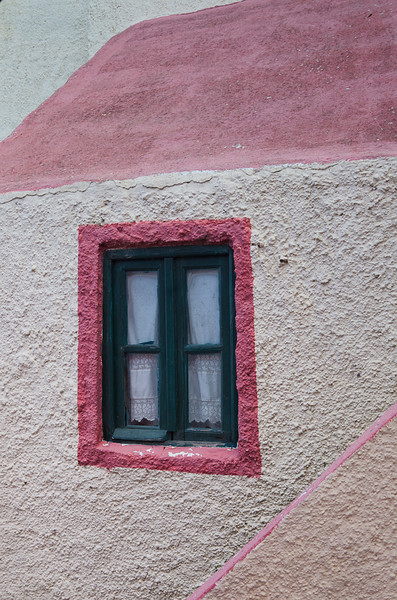 Window, Santorini, Greece