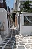 Narrow Walkways, Island of Mykonos, Cyclade Islands, Aegean Sea, Greece