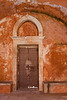Monastery door, Crete, Greece