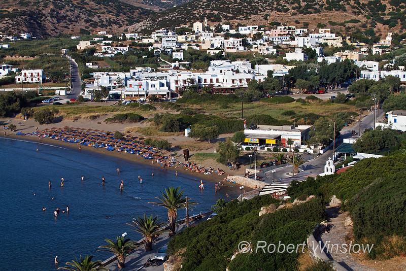 Galissas, Beach, Island of Syros, Cyclade Islands, Aegean Sea, Greece