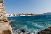 Windmills, Island of Mykonos, Cyclade Islands, Aegean Sea, Greece