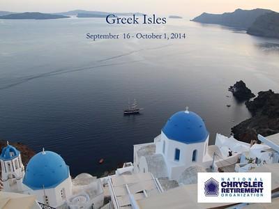 Greek Isles - 2014