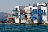Little Venice, Island of Mykonos, Cyclade Islands, Aegean Sea, Greece