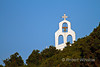 Bell tower on Small Church, Galissas, Island of Syros, Cyclade Islands, Aegean Sea, Greece