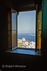 View of Church of the Resurrection, Ekklisia Anastaseos, from Interior, Catholic Basilica of San Georges, Saint George, Ano Syros, Island of Syros, Cyclade Islands, Aegean Sea,  Greece