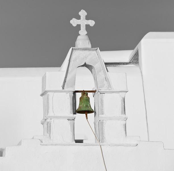 Church Bell, Mykonos, Greece
