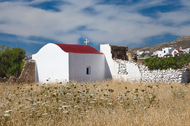 Chapel, Mykonos, Greece