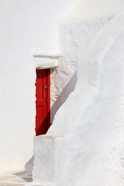 Red Door, Mykonos, Greece