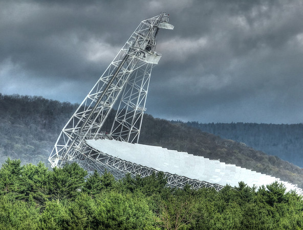 Green Bank Radio Telescope Observatory: Travels with Unka Dave Richards