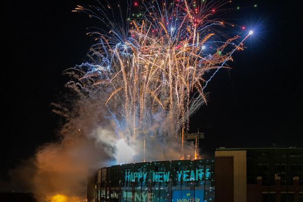 New Years 2020, Lambeau Field Green Bay, WI