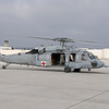 CH-46 Sea Knight helicopter to take us out to the USS Green Bay