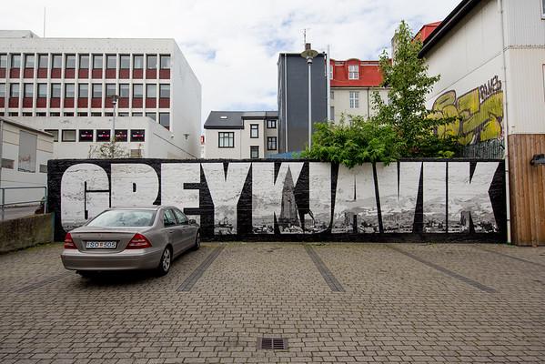 Reykjavik graffiti Greykjavik