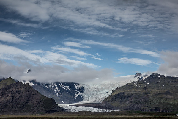Iceland glacier mountains