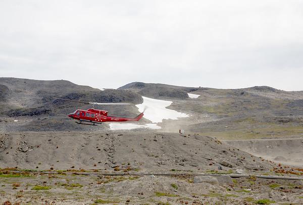 Grónsko vrtulník