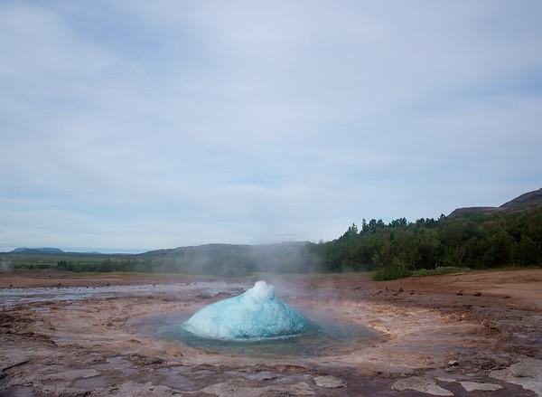 Strókkur geyser Iceland