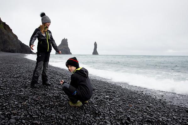 Black Beach Iceland Vík