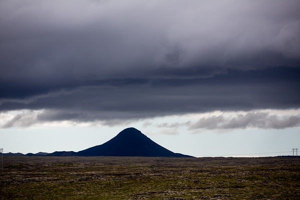 Keilir mountain Reykjanes Iceland