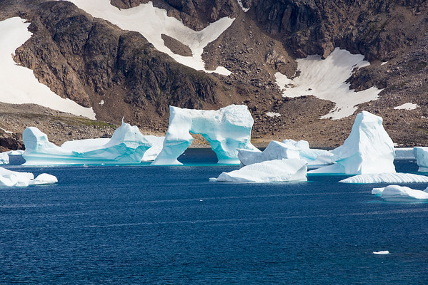 Grónsko kry led moře