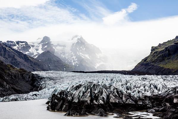 Glacier Iceland Route 1